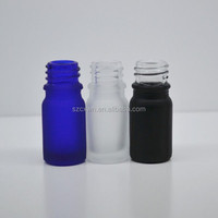 Empty essential oil glass bottle,frost glass essential oil bottle,essential oil bottle for spa