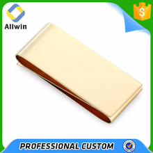 Wholesale Customized Blanks Gold Double Money Clip