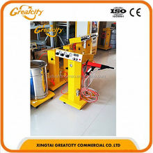 Best ever quality Steel pipe coating machine electrostatic powder spraying machine