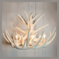 Antler Chandelier Antique Decorative Pendant Light