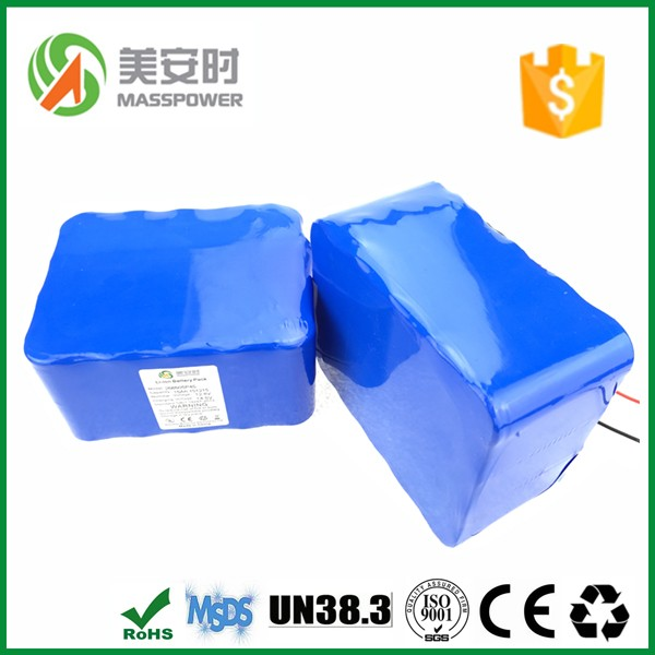 Customized ! China wholesale 12 - 48v lithium ion battery pack for segway or motorcycle with original cell green 18650