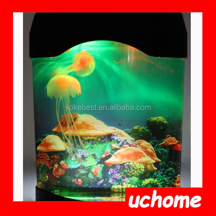 UCHOME Eco-friendly led jellyfish aquarium light