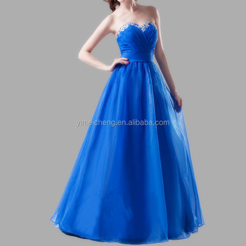 Elegant strapless tulle lining applique collar design fitted sweet sash prom dress