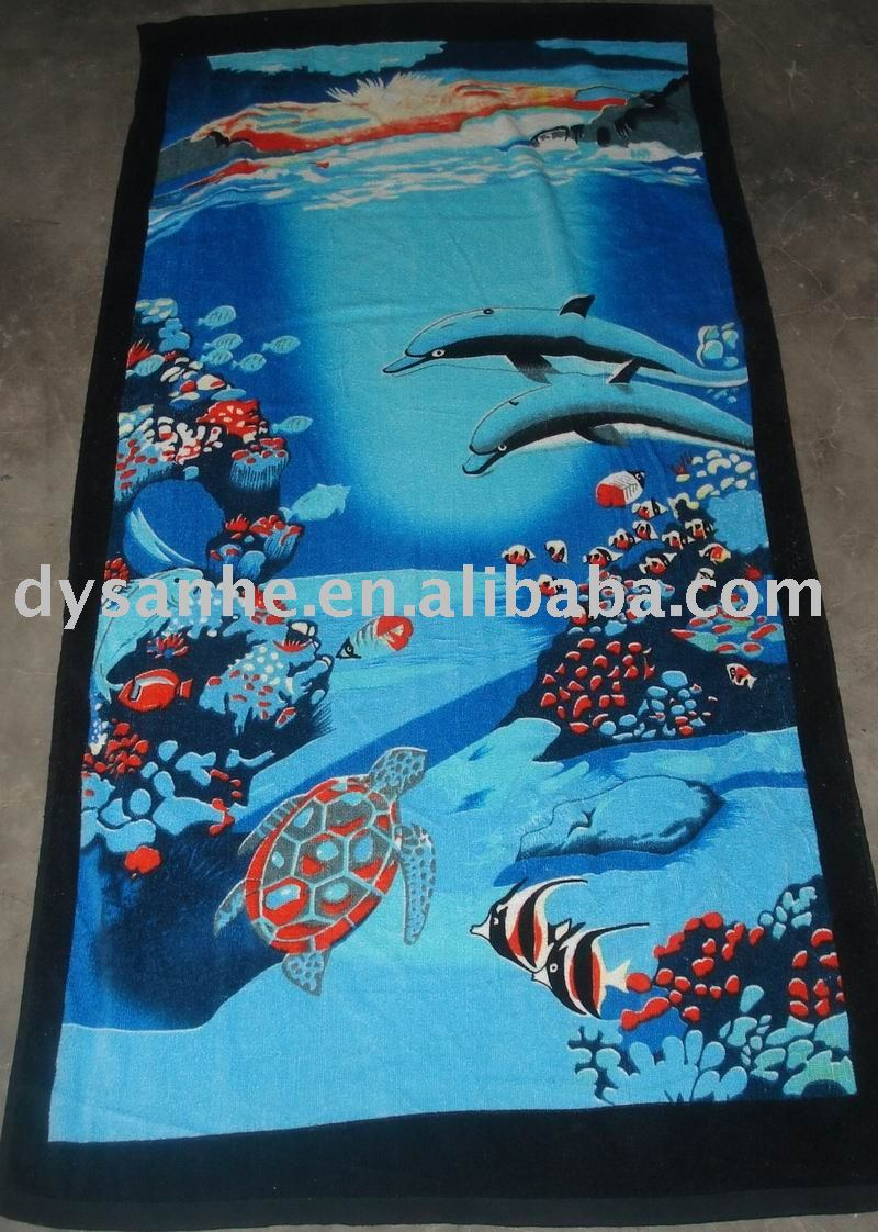 velvet solid printed bath towel stock
