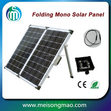 High efficiency monocrystalline solar panel 156*156cm foldable solar panel 80W