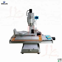 Free shipping to Russia no tax 5 axis mini cnc router 3040 wood carving machine vertical type cnc milling engraving machine