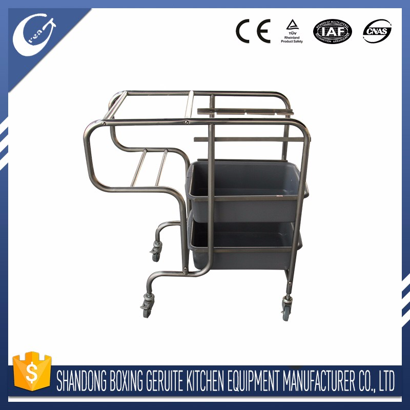 MANUFACTURE OEM cleaning trolley nail salon trolley