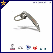 Existing design blank metal key chain