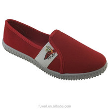 Red Color Soft Philippine Canvas Women Shoes in Wholesale Price