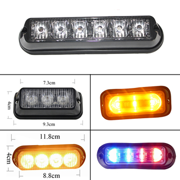 3Watt led surface mounting police ambulance lights