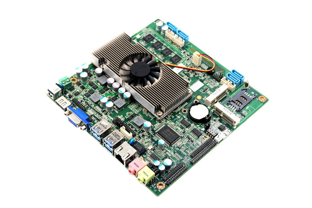 X86 Single Board Computer Motherboard With Hm77 And Intel