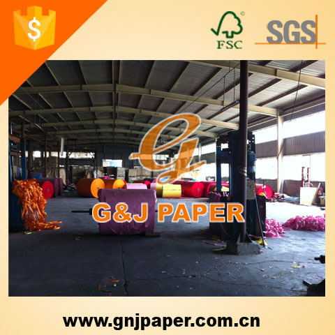Colored Wood Free Offset Printing Paper