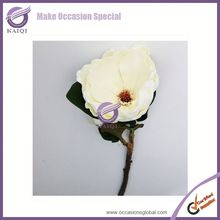 18290-1 white mangnolia Factory wholesale high quality artificial PU flower