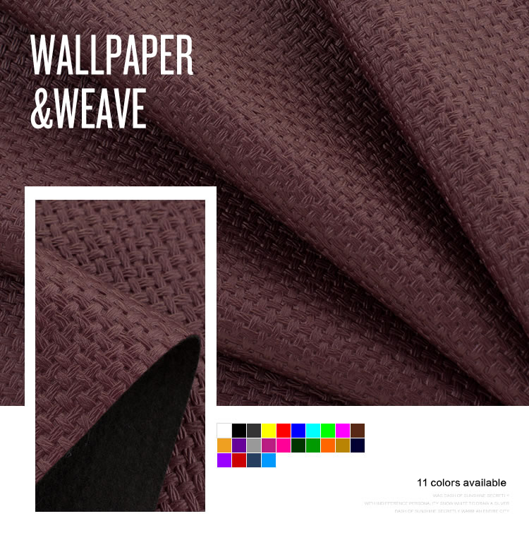 multi-funcational high quality pvc decorative leather fabric/pvc fabric backed vinyl wallpaper home
