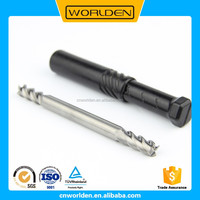 Multifunctional china factory solid cnc 2 flutes ball nose end mill cutters ctx2-r4.0x8 120l kvl for wholesales