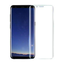 wholesale price full cover 3D tempered glass screen protector for Sam sung Galaxy S8