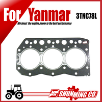 3TNC78L cylinder head gasket for Yanmar mini excavator engine use