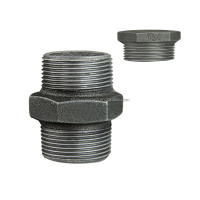 300# malleable iron pipe fittings nipple