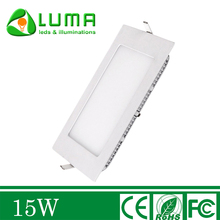 LED Recessed Ceiling Light 15W Square Panel Lights 5000K White