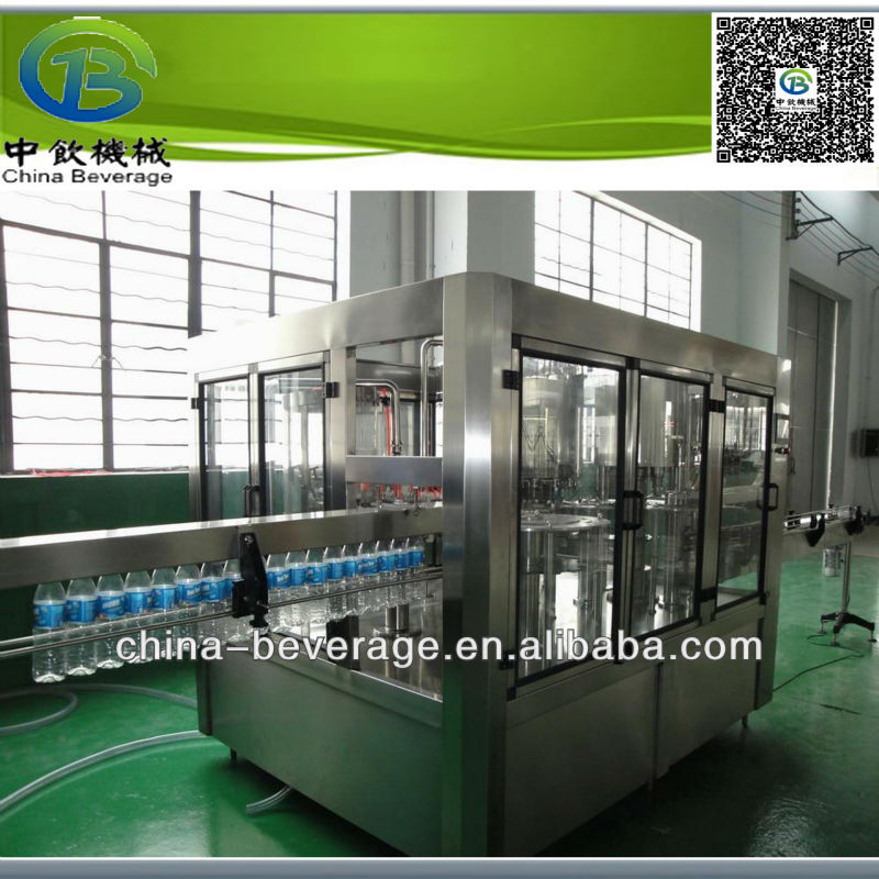 sturdy construction for gas contained beverage filling equipment