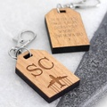 Wholesale OEM Wooden Travel Luggage Tag,Cruise Luggage Tag Holder