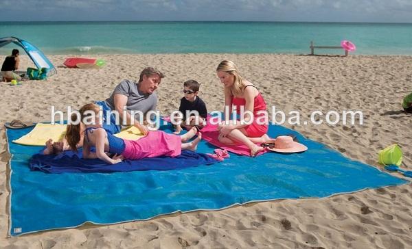 Tapis de sable/sable. libre. tapis./natte de plage-Matelas de camoing ...