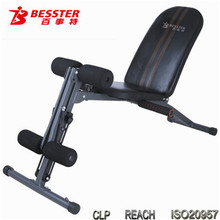 BEST JS-005G Multi Gym multifunction abdominal machine body stretching machine sitting pad using sit-up bench