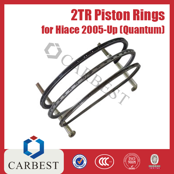 High Quality Engine Parts 2TR Piston Rings for Toyota Hiace 2005-Up Quantum OE:13011-75110/13011-75130