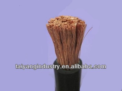 H01n2-d Rubber/TPE/CPE/EPR Sheathed Flexible Welding Cable 10-185mm2