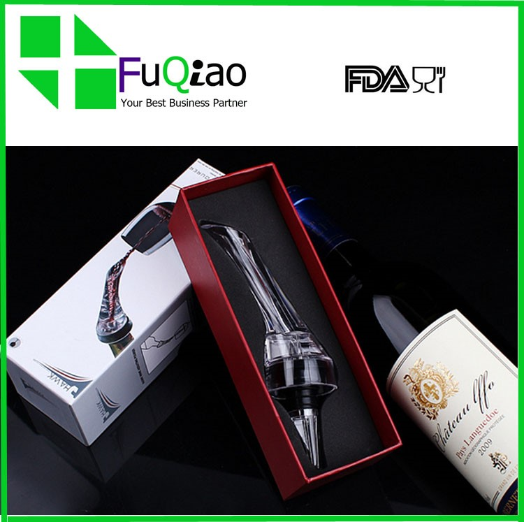 Plastic Wine Aerator Pourer with Fast Aerating for Best Wine Gift