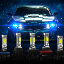 High quality car h4 led headlight bulbs 36W 8000LM
