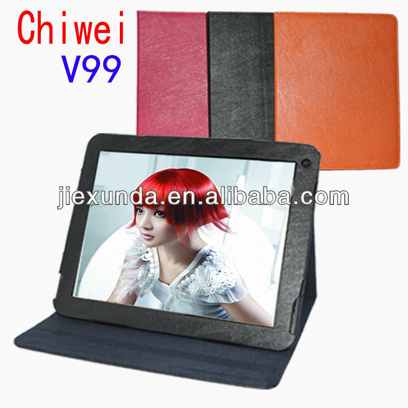 "Special Leather Case for 9.7"" Chuwi V99 Quad Core Tablet PC"