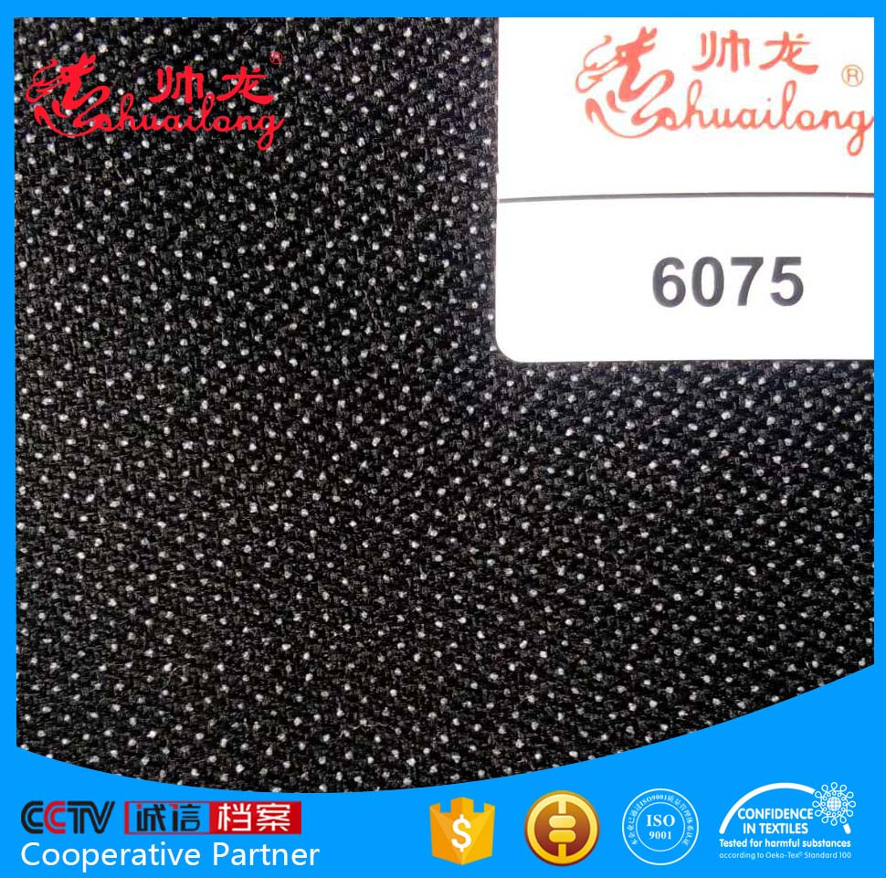 world -famous woven fusible interlining 57gsm fabric -CCTV recommendation