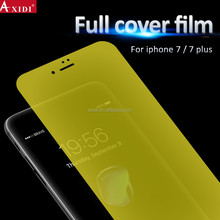 Exclusive Anti Broken TPU Yellow Screen Film for iPhone 7 7Plus Full Cover Screen Protector