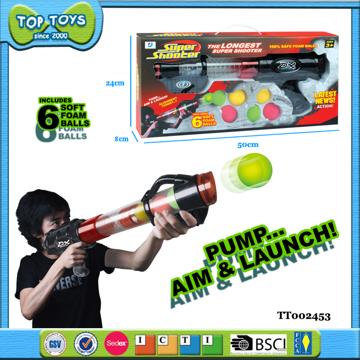 black cheap plastic toy guns soft bullet gun toy ball shooting gun toy
