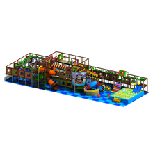 Lively Carribean Pirate Ship Children Inflatable Indoor Playground
