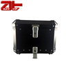 Universal Motorcycle Aluminum Top Box, Flip 45L Motorcycle Top Case