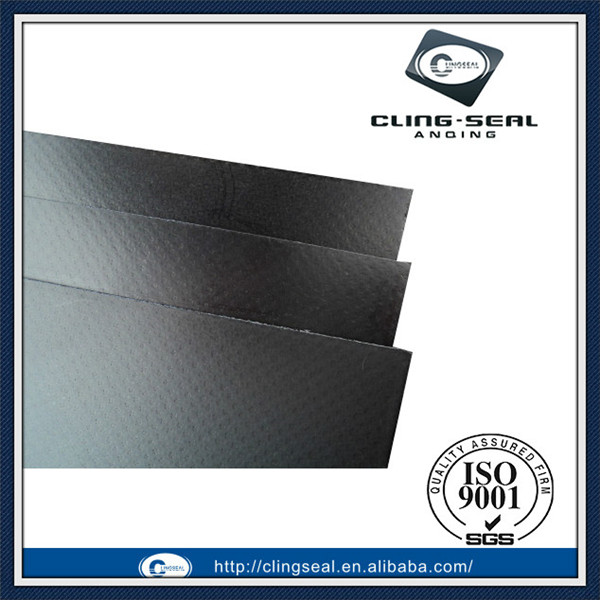 Metallic insert carbon reinforced graphite composite gasket sheet