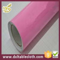 Hot sale Pink Gift wrapping decoration PVC film