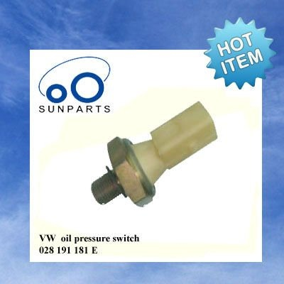 VW oil pressure switch, oil pressure switch sensor 028 191 181 E