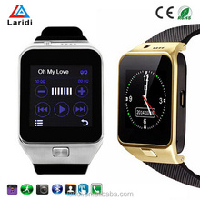 2015 New style bluetooth smartwatch GV09 vogue watch android smart watch phone watch with SIM card