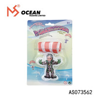 Outdoor Children Mini Parachute Toy For Kids Play Game Soldier Parachute