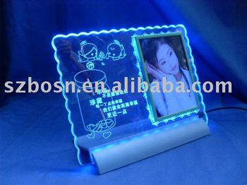 Acrylic Sign Plate,Perspex Led Sign,Lucite Banner Stand
