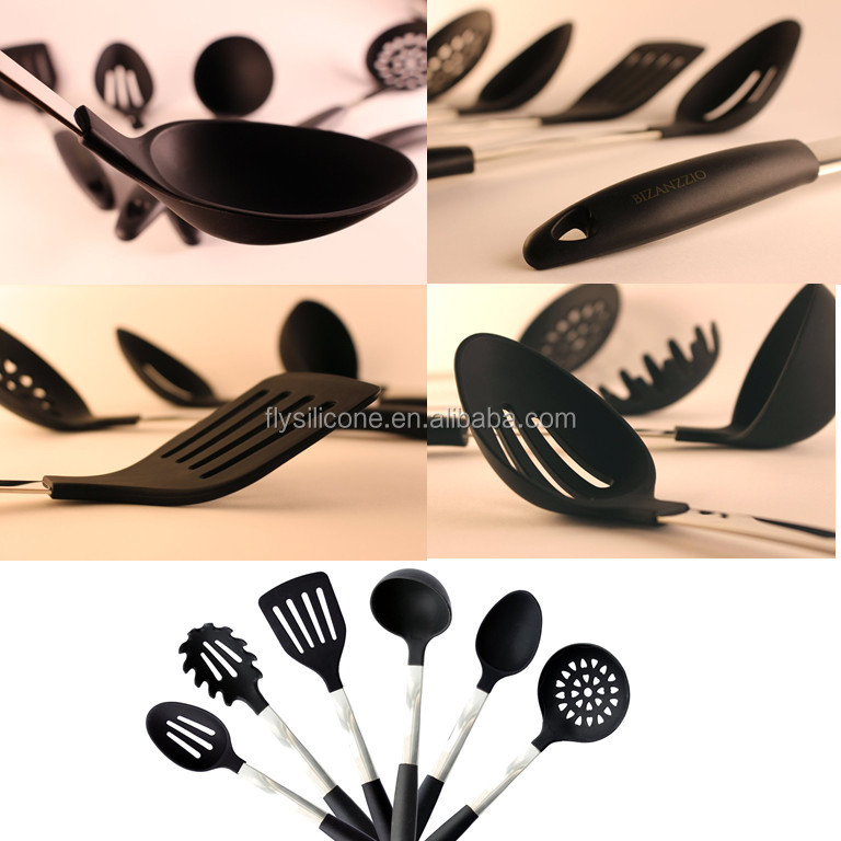 High Quality Cooking Tools Stainless Steel & Silicone Kitchen Tools