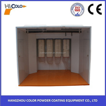 COLO 2016 Walk in type Cartridge Filter Powder Paint Booth for Sale