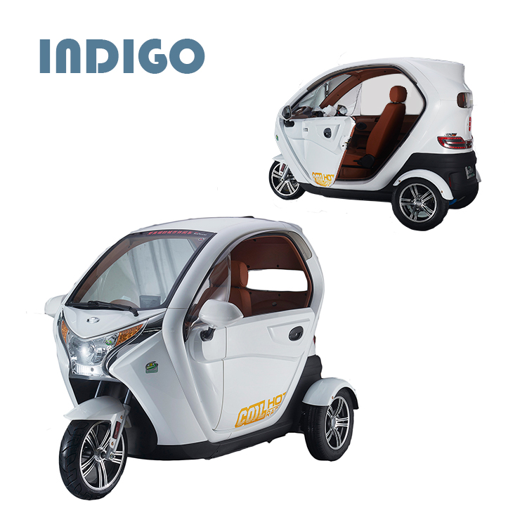 Adult electric tricycle with adjustable seat