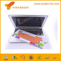 Colorful printed custom silicone keyboard cover for all computer flag design china factory wholesales