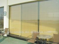 motorized hollow aluminium venetian blinds