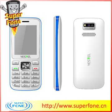 New 2014 !!! C2 2.4inch chinese white color mobile phone