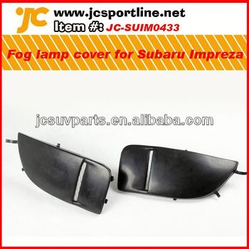 For Subaru Impreza 8th PU foglamp cover auto accessories